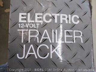 Electric 12-Volt Trailer Jack