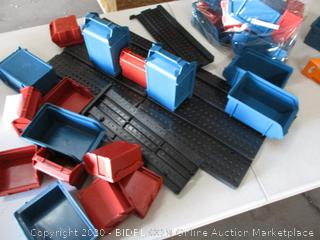 Stalwart Small Parts Storage Containers