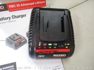 Ridgid Battery Charger