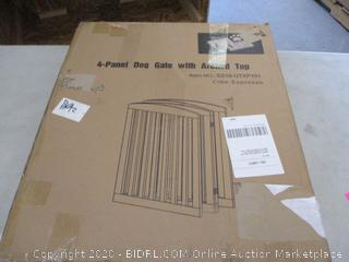 Paw Land 4-Panel Dog Gate