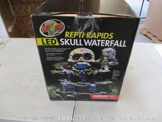 Zoo Med REPTIL RAPIDS LED SKULL WATERFALL