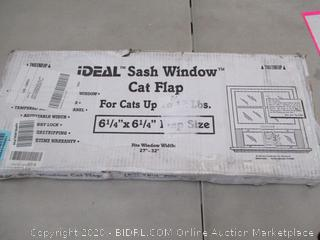 IDEAL Sash Window Cat Flip