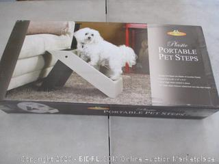 Pet Store Plastic Portable Pet Steps