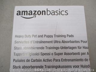 Amazon Basics Heavy Duty Pet & Puppy Training Pads