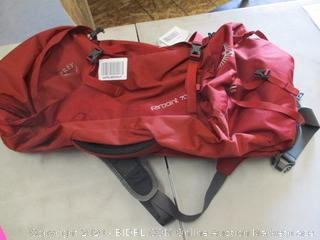 Osprey Packs Farpoint Men's Travel Backpack, Jasper Red (Retail Price $134)