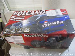 Redcat Racing Nitro 2.4GHz Volcano S30 Truck, 1/10 Scale, Blue/Silver ($259 Retail)