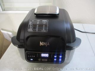 Ninja Foodi Pro 5-in-1 Integrated Smart Probe and Cyclonic Technology Indoor Grill, Air Fryer, Roast, Bake, Dehydrate (AG400,  $299 Retail)