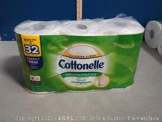 Cottonelle Ultra gentlecare aloe and eat Edibles painting ripples 6 family Mega rolls