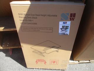 "36"" Height Adjustable Standing Desk (Box Damage)"