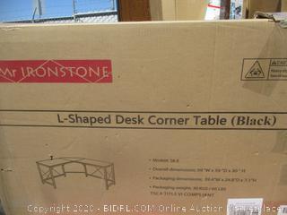 L-Shaped Desk Corner Table (Box Damage)