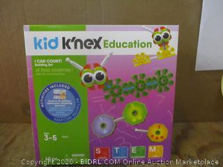 Kid K'nex education I Can Count Building Set
