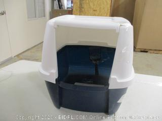 Iris USA - Jumbo Hooded Litter Box (Cracked Lid, See Pictures)
