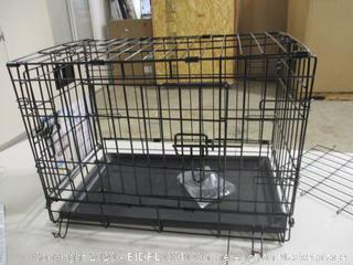 """Life Stages - Double Door Folding Metal Dog Crate, Extra Small (22"""" x 13"""" x 16"""")"""