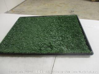 "PETMAKER - Artificial Grass Dog Potty Training Pad (24"" x 20.5"")"