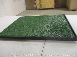 "PETMAKER - Artificial Grass Dog Potty Training Pad (24.5"" x 19.5"")"