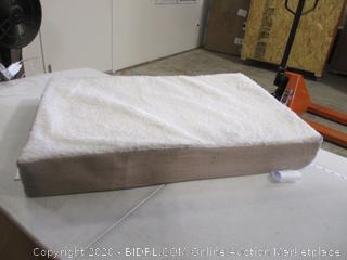 "PETMAKER - Sherpa Top Pet Bed with Memory Foam (30"" x 20"")"