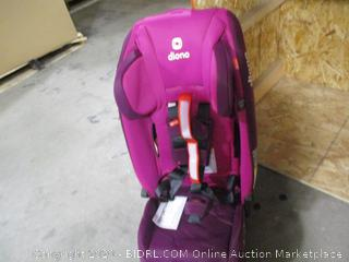 Diono- Radian 3 RXT- Latch All In One Convertible Car Seat- Purple Plum (Retails $299)