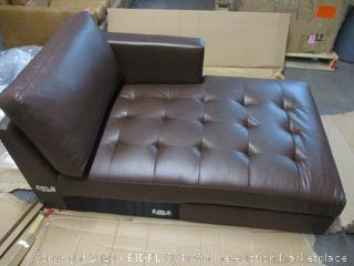 Faux Leather Leather Sectional Part (Please Preview) (Incomplete)