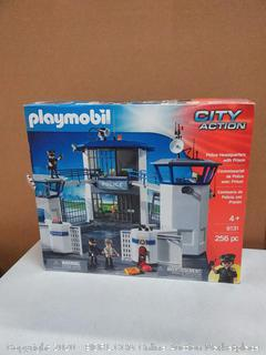 Playmobil Police Headquarters with Prison by Playmobil | Toys