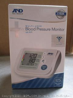 AND Multi-User Blood Pressure Monitor