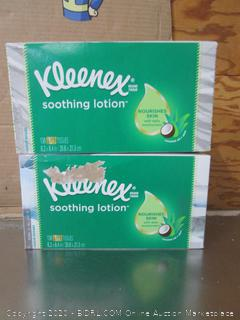 Kleenex Soothing Lotion 3-Ply Tissue