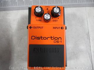 Boss Signal Processor DS-1 Distortion