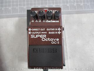 Boss Signal Processor OC-3 Super Octive