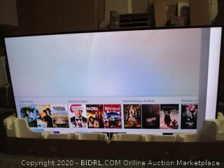 "Samsung UHD TV  75"" damaged See Pictures Powers on"
