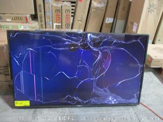 "LG UHD TV 55"" Screen Cracked See Pictures"