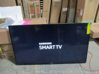 "Samsung Smart TV 50""  UHDTV Powers on See Pictures"