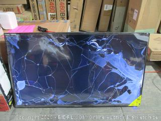 Sceptre U50 UK UHD Series Cracked Screen damage see Pictures