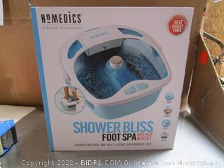 HoMedics Shower Bliss Foot Spa