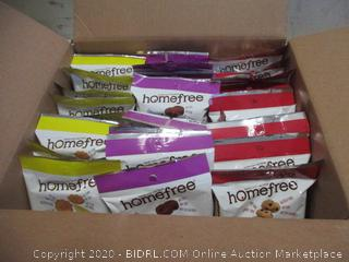 Homefree Mixed Case single serve Bags