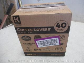 40 K-Cup Pods Coffee Lovers Collection