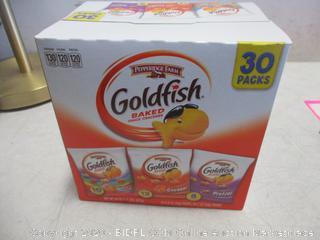 Pepperidge Farm Goldfish Baked  Snack Crackers 30 Pack