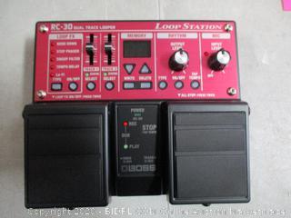 BOSS Loop Station RC-30 Dual Track Looper   in box