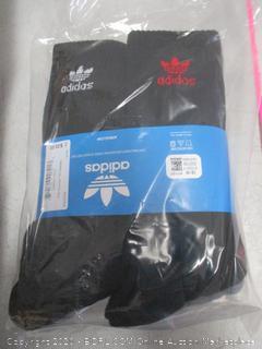 Adidas pair 6 Crew Socks size  6-12