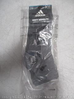Adidas Men's Superlite Size 6-12  3 pairs