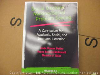 Special Decision Making/Social Problem Solving