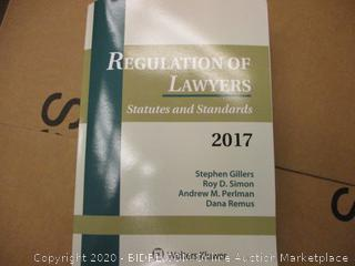 Regulation of Lawyers  statutes and Standards 2017