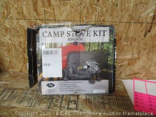 Camp Stove Kit (Box Damage) (Please Preview)