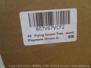 Flying Saucer Tree Swing