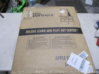 Little Partners Deluxe Learn and Play Art Center