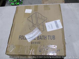 Folding Bath Tub for Kids