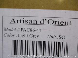 Artisan d'Orient Light Grey Bowls