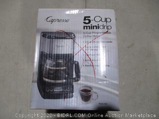 Capresso 5-up Minidrip Coffee Makeer