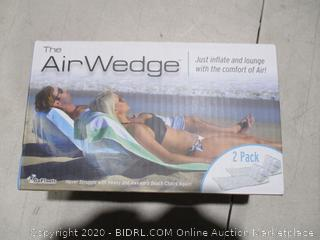 Air Wedge Just inflate and Lounge