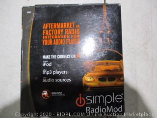 Aftermarket or Factory Radio Integration For Your Audio Player