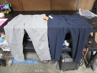 Mens Pants Izod 24x29 Pacific Trail 34x32