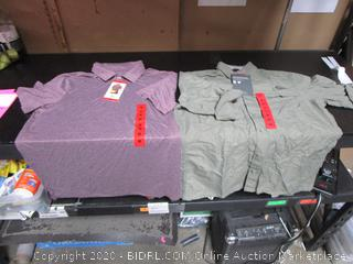 Mens Medium Shirts Eddie Bauer 32 Degrees Cool